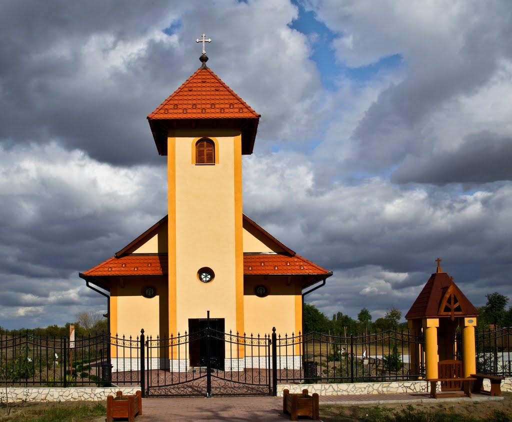 Csiby Mihály: Keresztút - Római katolikus templom, Újszilvás