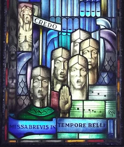 Illusztráció: Csiby Mihály - Csendes mise (részlet) - Mátraszentimre (Forrás: kozterkep.hu)